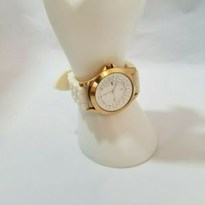 BCBGeneration Beige and Rose Gold Watch